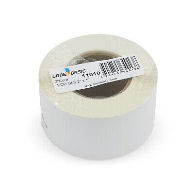 Labels For Primera Lx500 Printer 2 X 1 1100 Glossy Labels Per Roll