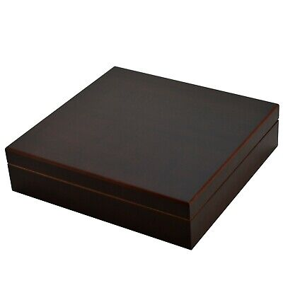 20 Capacity Dark Brown Desktop Cigar Humidor and Humidifier  C-15