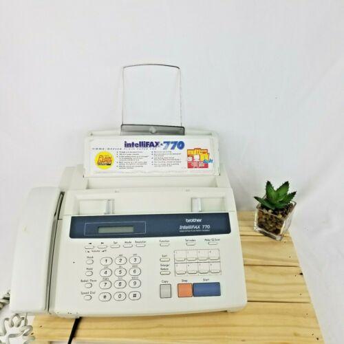 Fax Machine Brother IntelliFAX 770 HOME/OFFICE PLAIN PAPER FACSIMILE