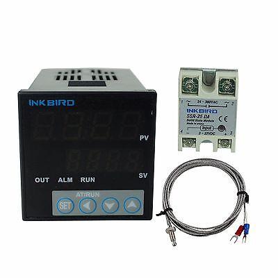 Itc-106vh Digital Pid Temperature Controller K Sensor 25 Ssr Fahrenheit 110v