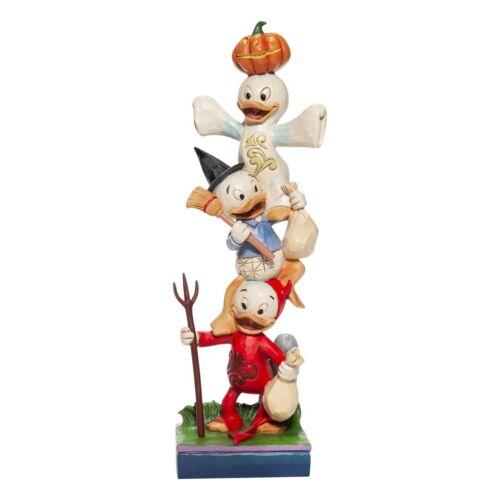 Disney Traditions Jim Shore Huey Dewey Louie Little Monsters Halloween Figurine