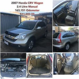 2007 Honda CR-V Wagon Geelong Geelong City Preview