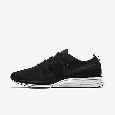 Nike Flyknit Trainer AH8396-007 Black White Men's Sportswear Lifestyle Shoes NIB (Nike Trainer Shoes)