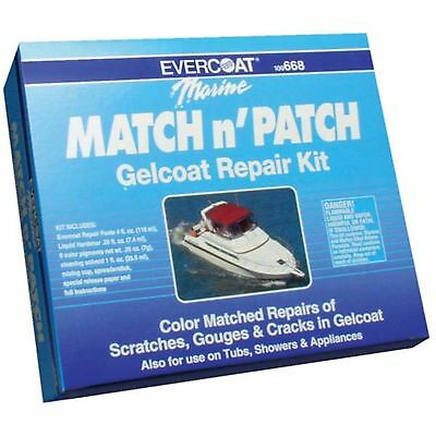 Evercoat 668 Gelcoat Match And Patch Repair Kit