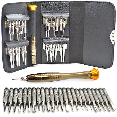 Iphone Tool Kit (Mobile Phone Repair Tool Kit 25 in 1 Screwdriver Set For iPhone 4S 5 5S 6 7 iPad)
