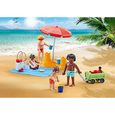Playmobil Family At The Beach Building Set 9819 NEW IN STOCK