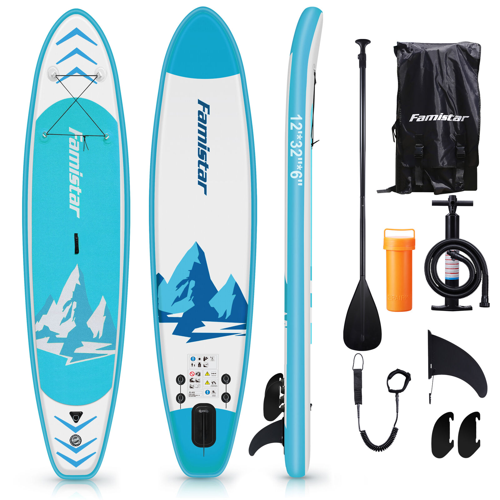 inflatable sup stand up paddle board 12