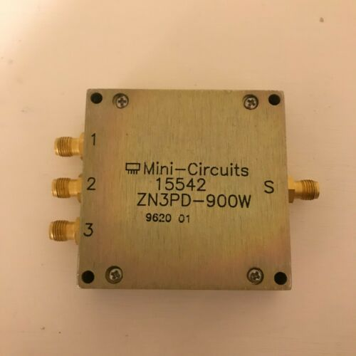 Mini-Circuits ZN3PD-900W power splitter/combiner DC pass 50Ω 650 to 1050 MHz SMA