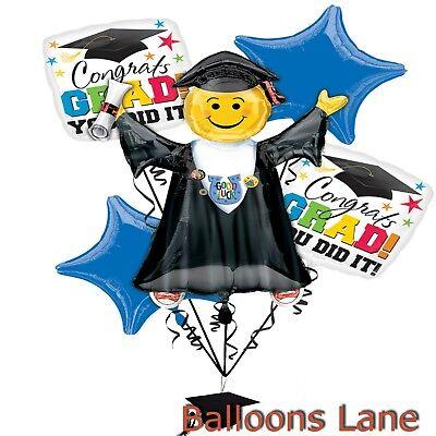 Graduation Balloon Weights (6pc Graduation Balloons Bouquet 1 Jumbo 4 Standard 1 weight- Balloons Lane)