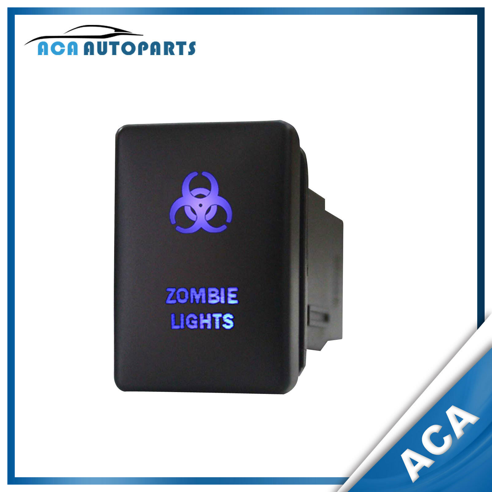 led light bar push switch for toyota hilux landcruiser prado 150 12v 3a yaris
