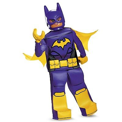 NEW Costume GIRLS LEGO BAT GIRL DC BATMAN BATGIRL SIZE SMALL 4-6