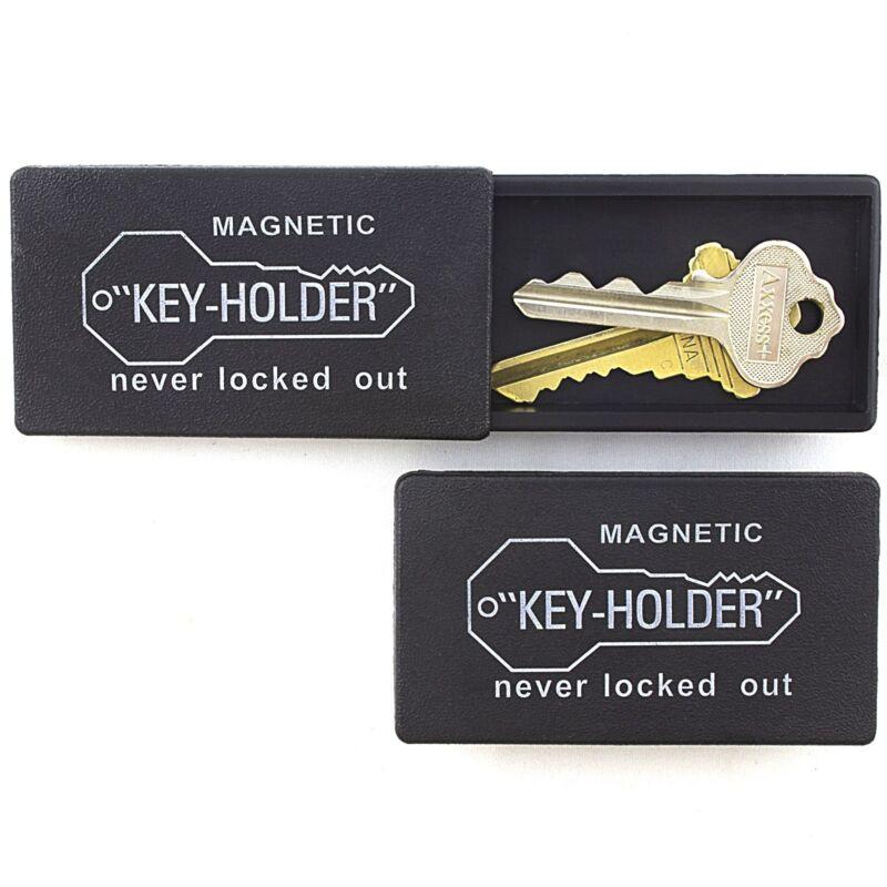 3 PIECE MAGNETIC MAGNET HIDE A KEY Emergency Spare Key Car Holder Hider Set