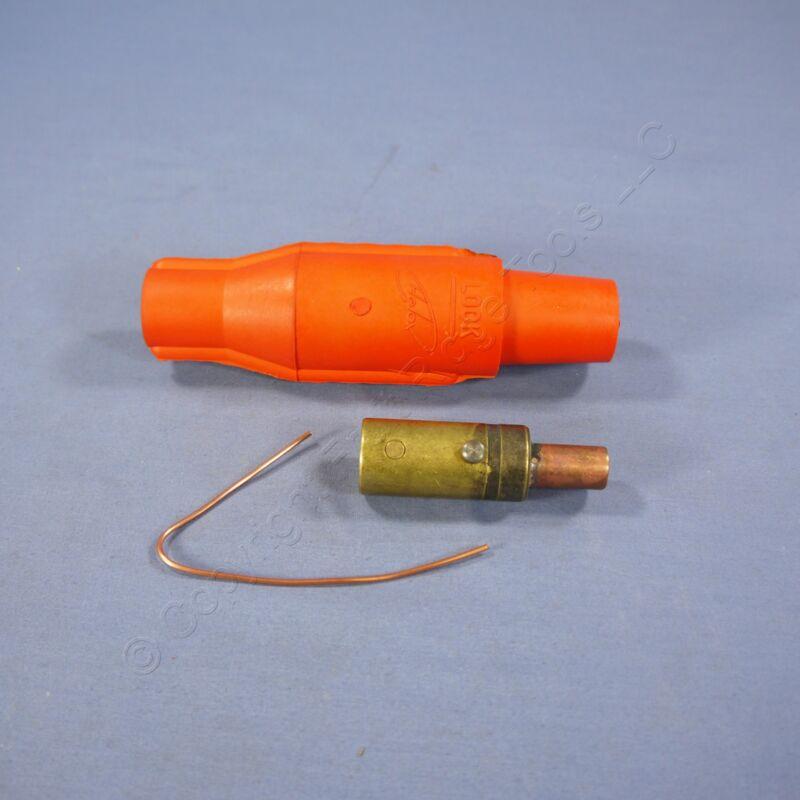 Leviton Orange 16 Series Cam Type Female Plug High Amp Plug 400A 600V 16V25-O