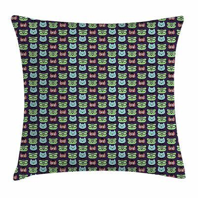 Geek Throw Pillow Cases Cushion Covers by Ambesonne Home Dec