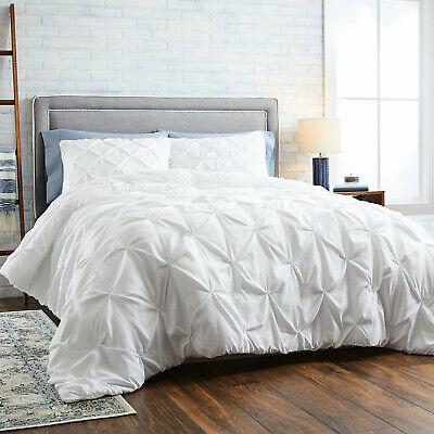 BRAND NEW IN BAG - Better Homes & Gardens King Pintuck Comforter Set 3