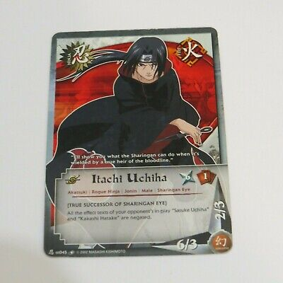 N-US045 Itachi Uchiha Common Naruto Card for sale  Saint-Paul