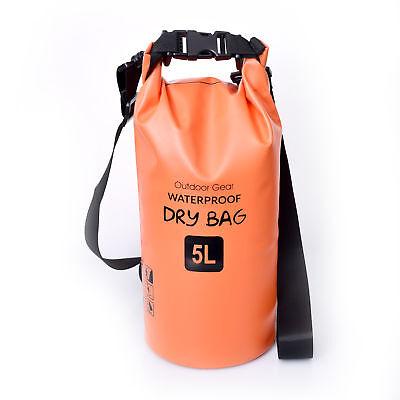 10L Dry Bag Waterproof Outdoor Swimming Rafting Kayaking Sailing Canoe  Backpack 5285d7ee91704