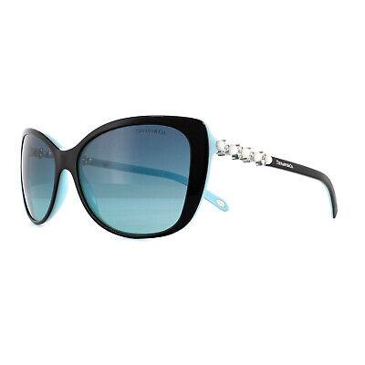 Tiffany Sonnenbrille Tf 4103HB 80559S Schwarz Blau Farbverlauf