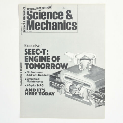 1975 Subaru Science & Mechanics Magazine Reprint Vintage