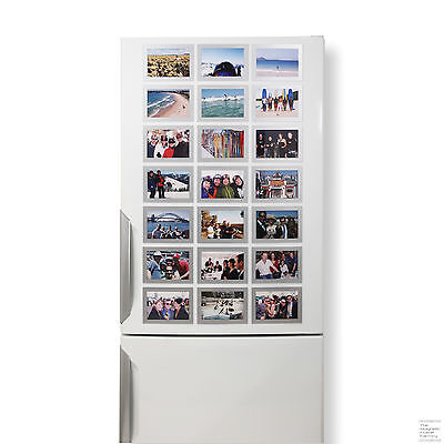 High Quality Designer Magnetic Picture Frames - 12 Pack of 6