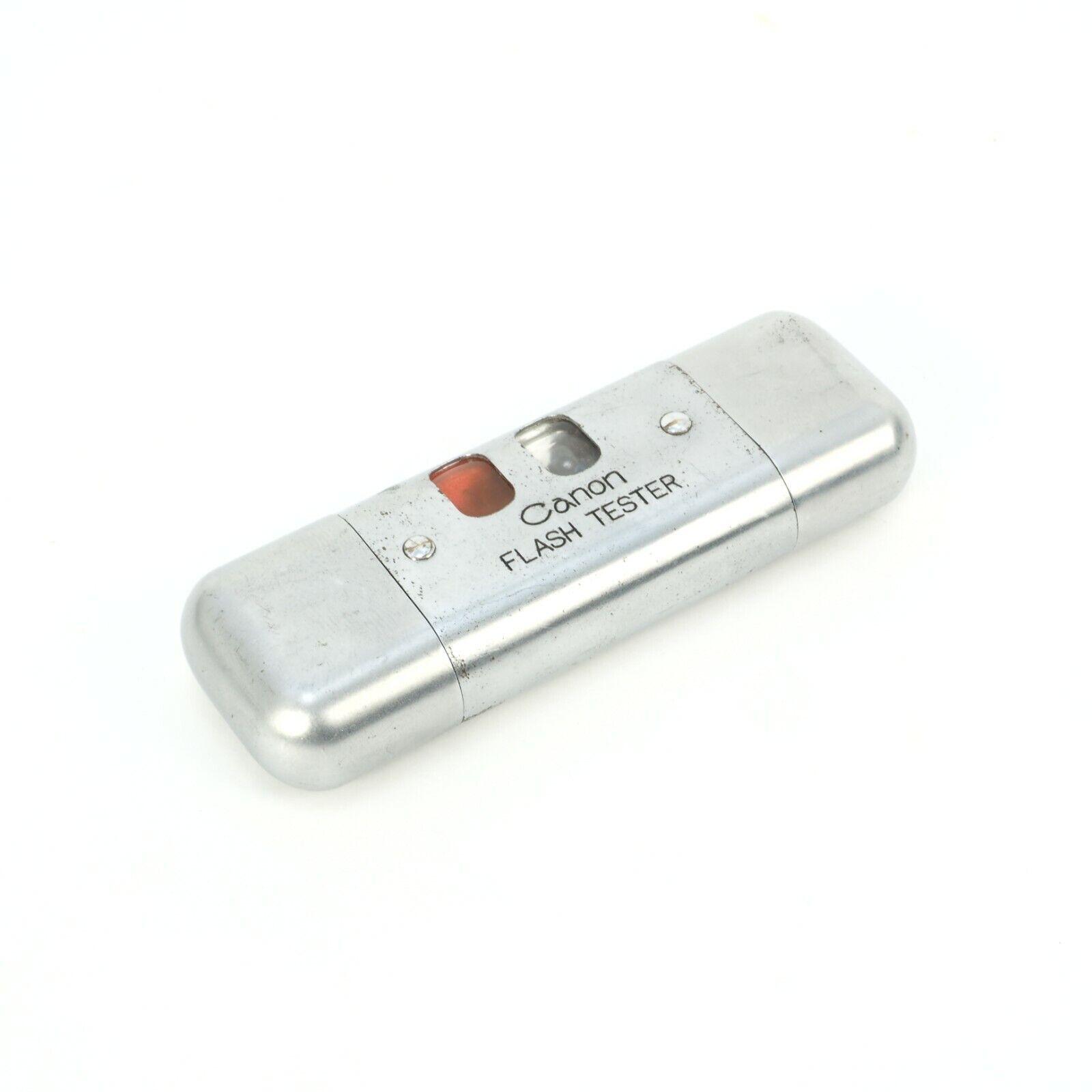 = Vintage Canon Camera Bulb Flash Unit Tester