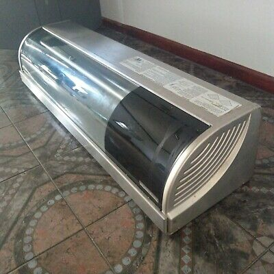 Hoshizaki Hnc-120ba 47 Refrigerated Sushi Case Cold Display Seafood Guaranteed