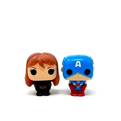 Black Widow & Captain America Funko Mini Figures 2019 Marvel Advent Calendar