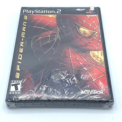 Spider-Man 2 (Sony PlayStation 2, 2005) PS2, Brand New, Factory Sealed