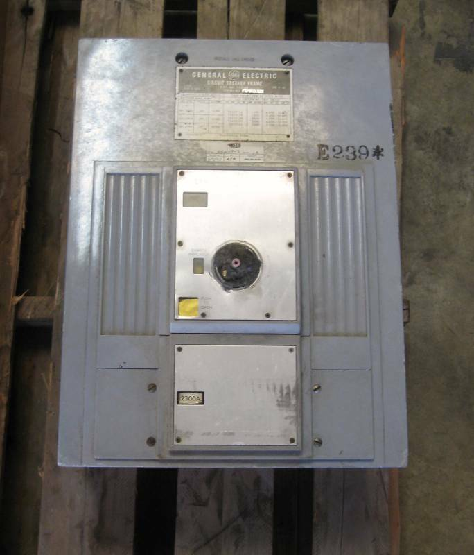 Ge Power Break/circuit Breaker 2500a 2500 Amp Tps253f 3p 600 Vac Used