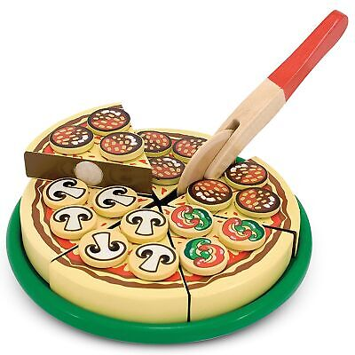 Melissa And Doug Baby / Kids / Childs Wooden Pizza Set - 10167