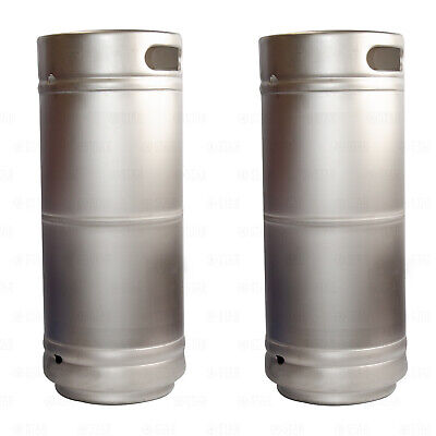 X2 16 Barrel Stainless Steel 5.16 Gallon Beer Kegs Sankey D Spears Sixtel