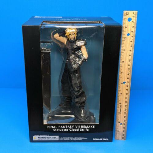 "Final Fantasy VII Remake Cloud Strife Statuette Figure Statue PS4 9.4"" FF 7"