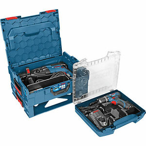 Bosch Blau Bundle Bohrhammer GBH 2-28F & Akku-Bohrschrauber GSR 10,8-2 im Koffer