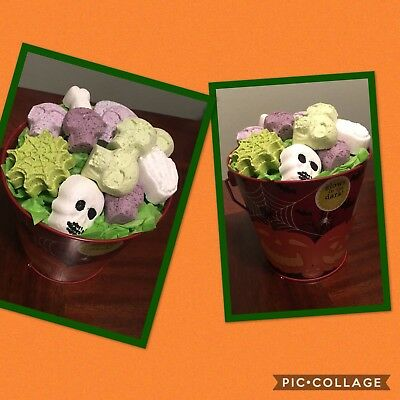 Halloween Bath Bomb Bucket - Halloween Bath Bomb