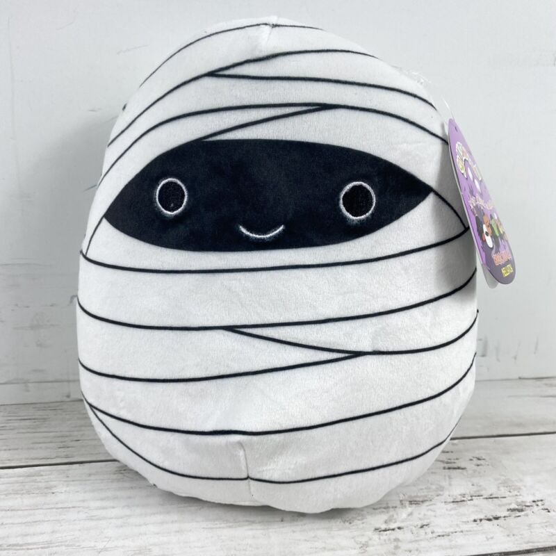 """Squishmallows Milo the Mummy Halloween 8"""" NWT from 2019 Kellytoy RARE SOLD OUT"""