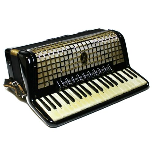 Vintage Hohner Germany Atlantic III Special Piano Accordion w/ Case