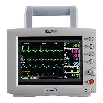 Bionet Bm3 Multi-parameter Vital Signs Monitor With 4 Year Warranty