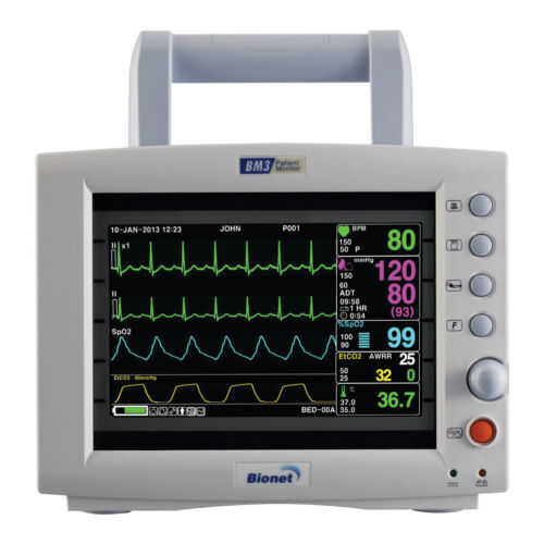 Bionet Bm3 Multi-parameter Vital Signs Monitor With 4 Year Warranty!!!