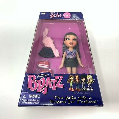 Bratz Jade Doll New Sealed 2002 4""