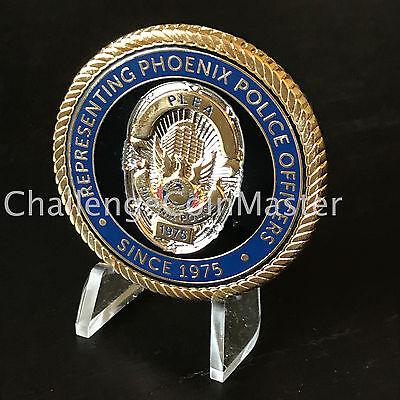 A2 Phoenix Law Enforcement Association PLEA Arizona Police Challenge Coin