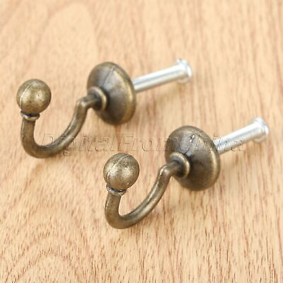 32mm*23mm Coat Clothes Hat Key Towel Hanger Holder Bathroom Kitchen Wall Hook