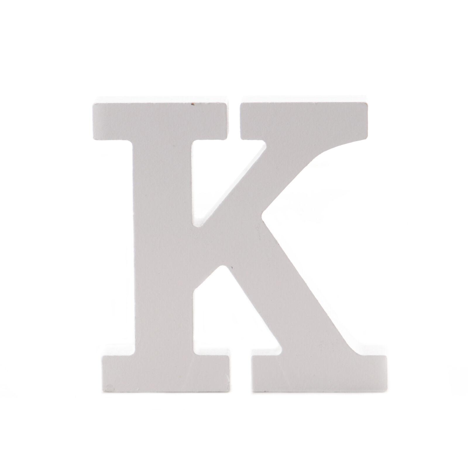 11cm A-Z Großer weißer Holzbuchstabe Alphabet Name Hochzeit WohnkulMr /& Mrs 8