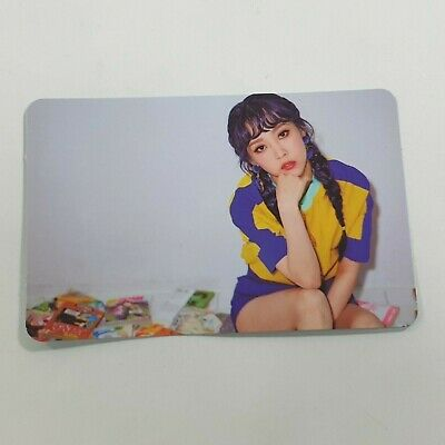 MAMAMOO 5th Mini Purple Official Original Moonbyul photocard K-POP Photo Card B