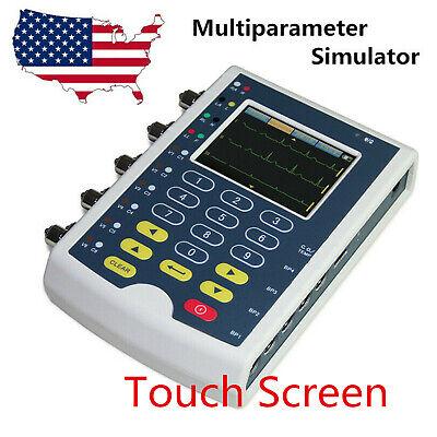 Touch Ms400 Patient Multi-parameter Simulator Ecgibpresptemp Arrhythmia Usa