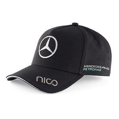 Nico Rosberg Mercedes Benz Cap Formel 1 Motorsport AMG Petronas schwarz F1