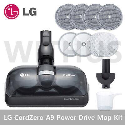 LG Genuine Cord Zero A9 Vacuum Cleaner Power Drive Mop Kit VNZ-PM02N - Tracking