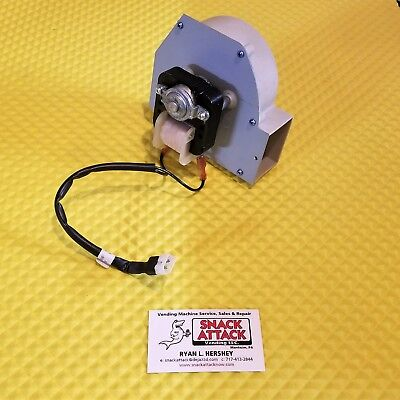 Crane National 673 946 Ap Coffee Vending Machine Blower Motor W Cable - New