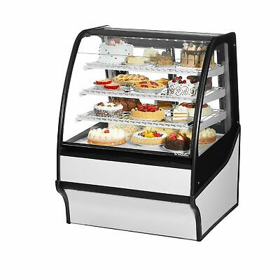 True Tdm-r-36-gege-s-w 36 Refrigerated Bakery Display Case