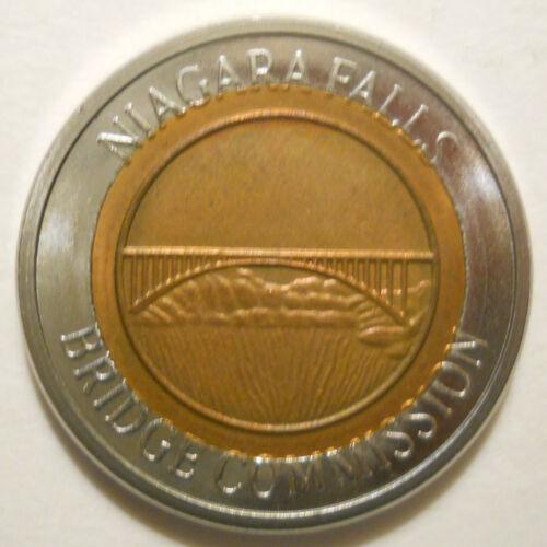 Niagara Falls Bridge Commission (New York) transit token - NY640H