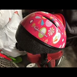 Toddler Pink Bike Helmet